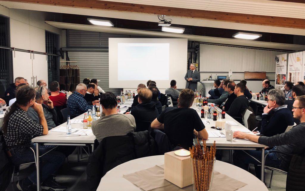 50. Holzbaustammtisch bei Holz-Hauff GmbH in Leingarten