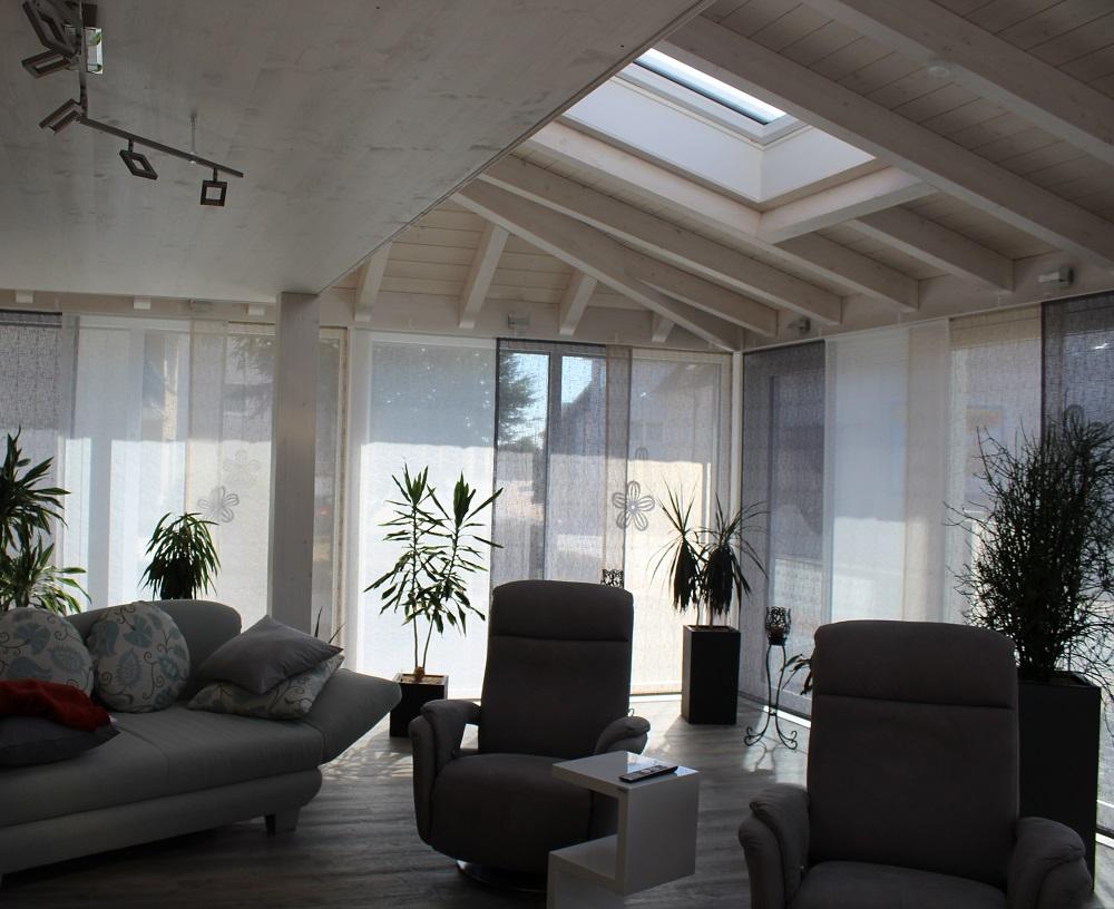 Decke aus Fasebretter von Holz-Hauff GmbH in Leingarten