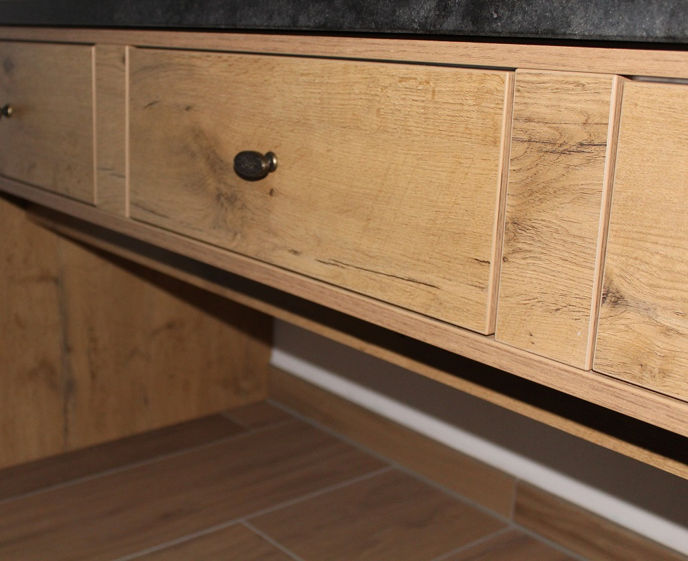 Waschtisch aus KBS-Platten bei Holz-Hauff GmbH in Leingarten