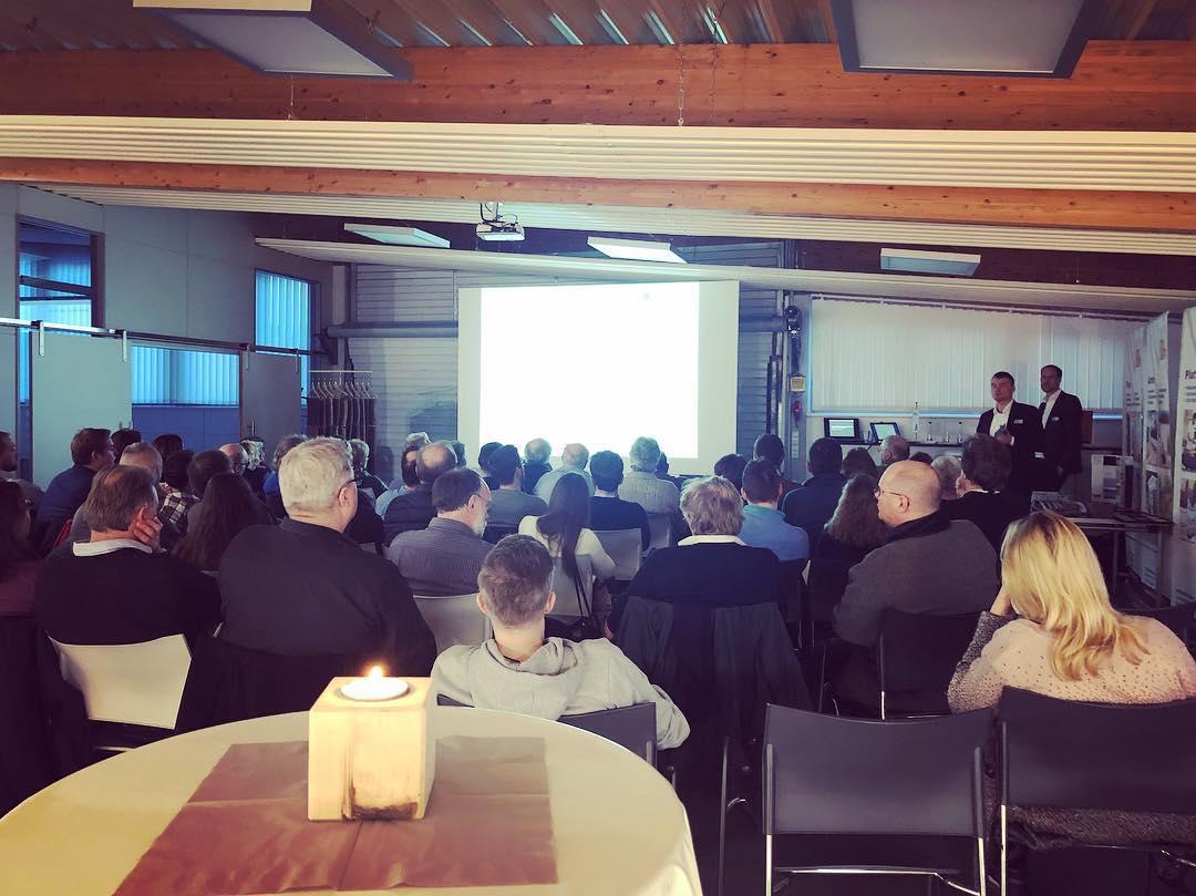 Fachveranstaltung Holzbau für Architekten bei Holz-Hauff GmbH in Leingarten