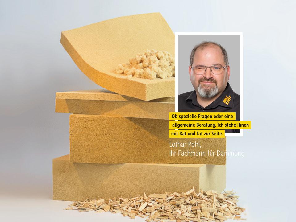 Holzweichfaser-Dämmung | Ansprechpartner | | Holz Hauff Leingarten