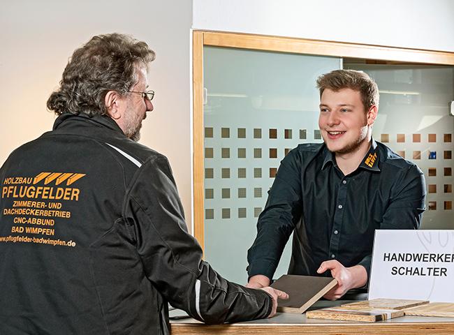 Beratung | Profikunden, Handwerker | Holz-Hauff in Leingarten