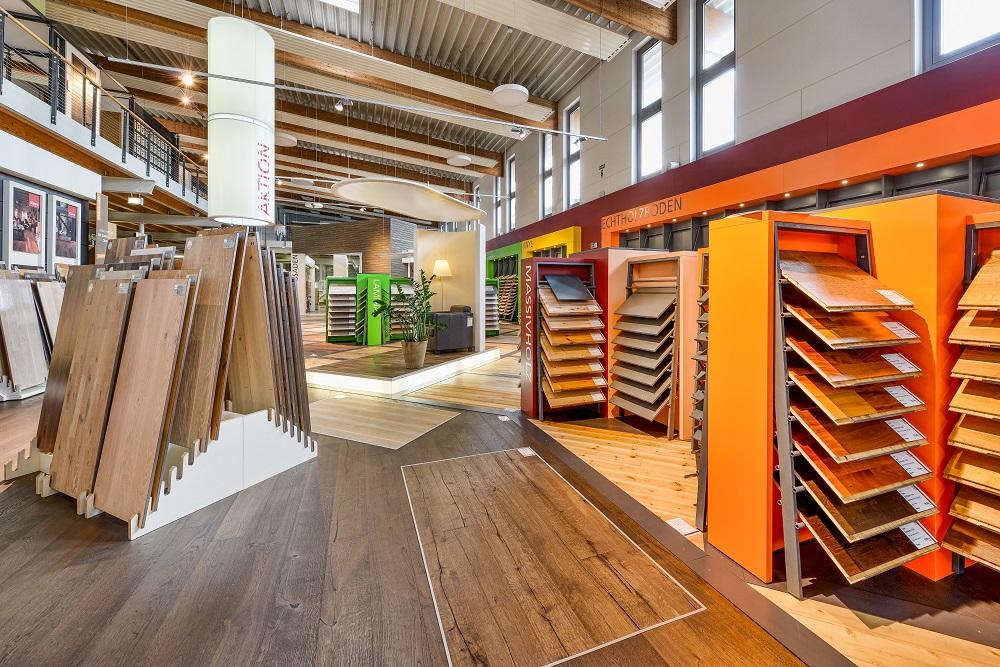 Ausstellung bei Holz-Hauff in Leingarten