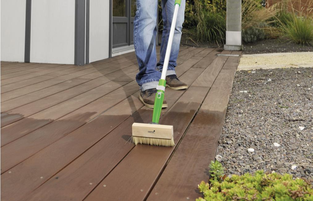 Terrassenpflege im Frühjahr | Holz-Hauff in Leingarten