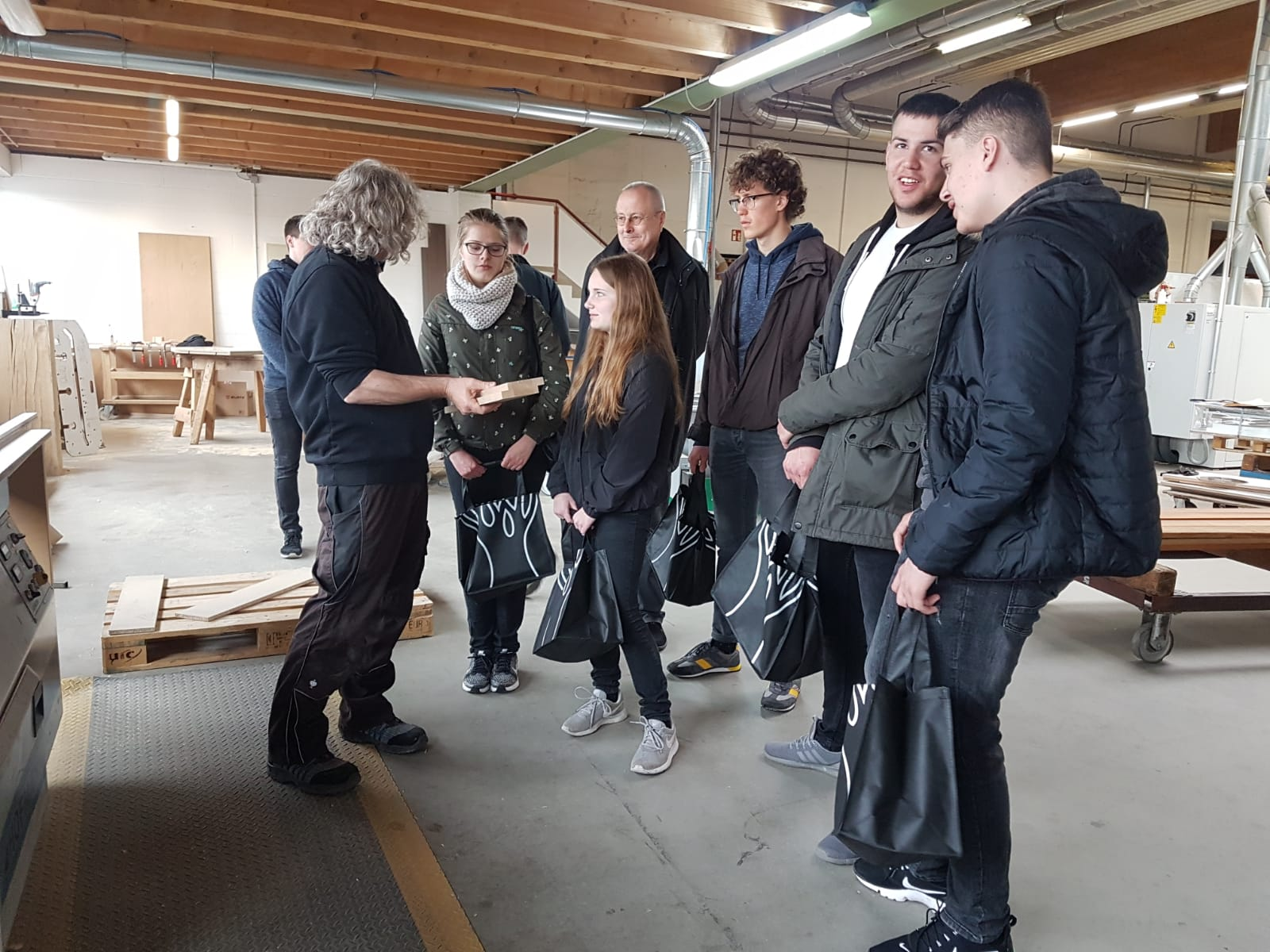 Betriebsschnuppertag bei Holz-Hauff GmbH in Leingarten