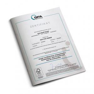 Zertifikat FSC 2019–2024 | Holz-Hauff in Leingarten