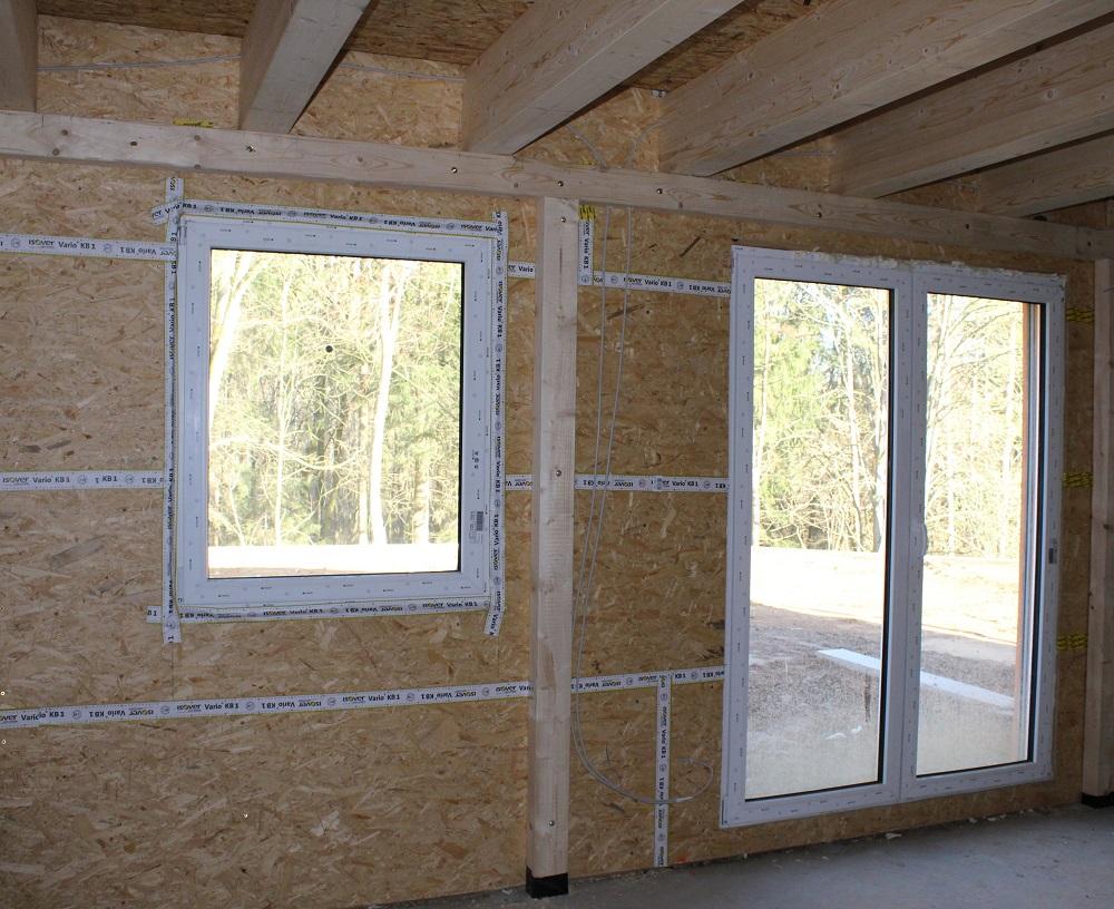 Holzständerbau bei Holz-Hauff GmbH in Leingarten