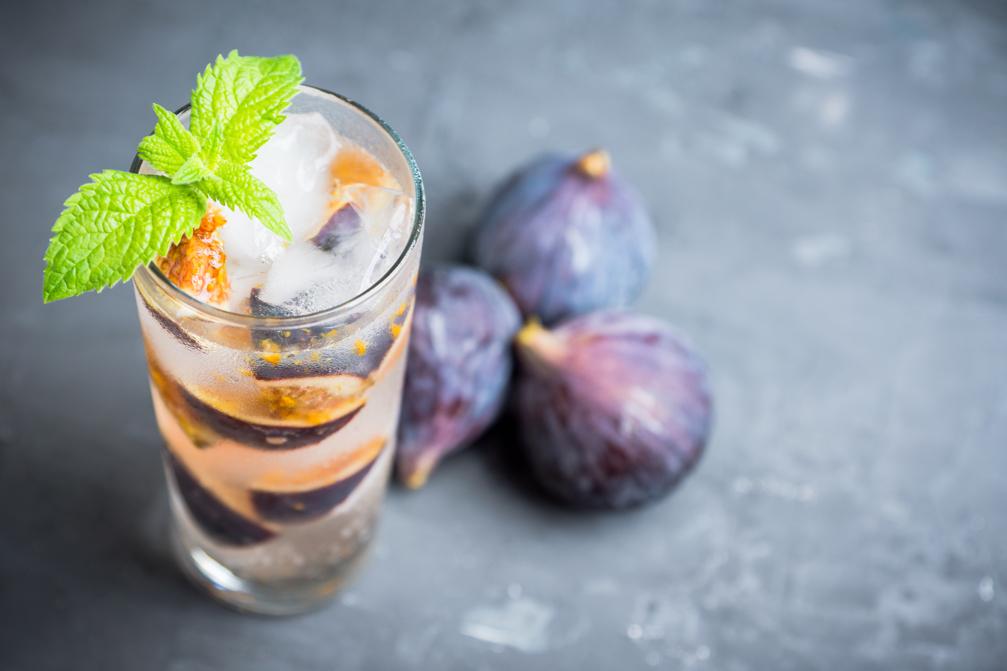 Cocktail-Rezept: Rum-Soda mit frischen Feigen | Holz-Hauff in Leingarten