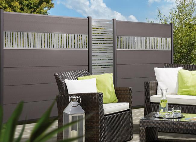 Sichtschutz mit System | Gestaltungsmöglichkeiten | Holz-Hauff in Leingarten