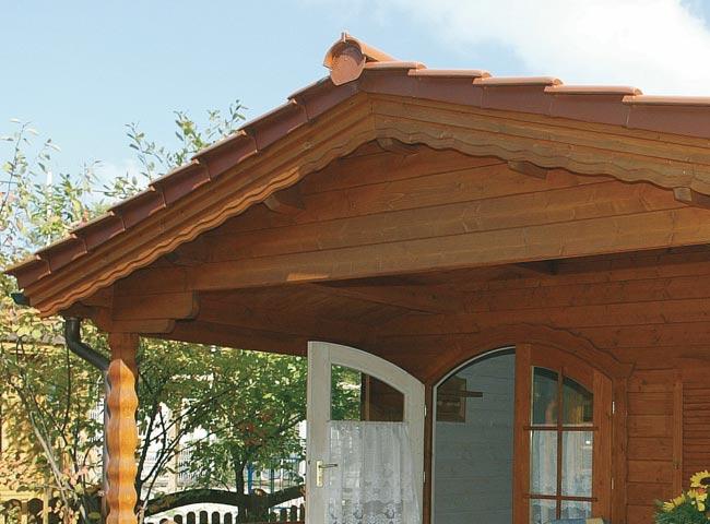 Garten- und Gerätehäuser | Dach | Holz-Hauff in Leingarten