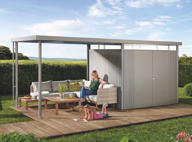 Gerätehäuser aus Metall | Holz-Hauff in Leingarten