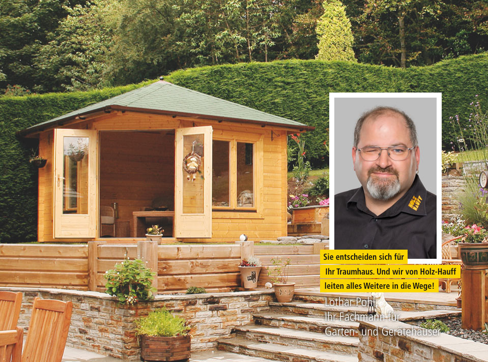Garten- und Gerätehäuser | Ansprechpartner bei Holz-Hauff in Leingarten