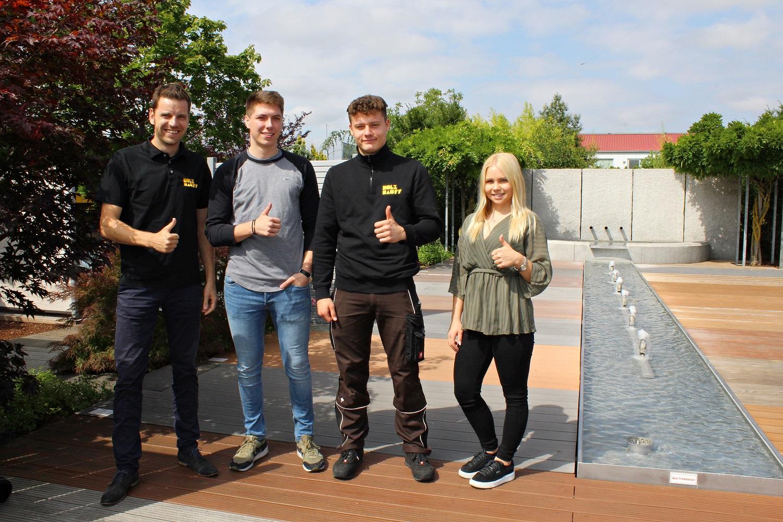 bestandene Abschlussprüfung unserer Azubis 2019 bei Holz-Hauff GmbH in Leingarten