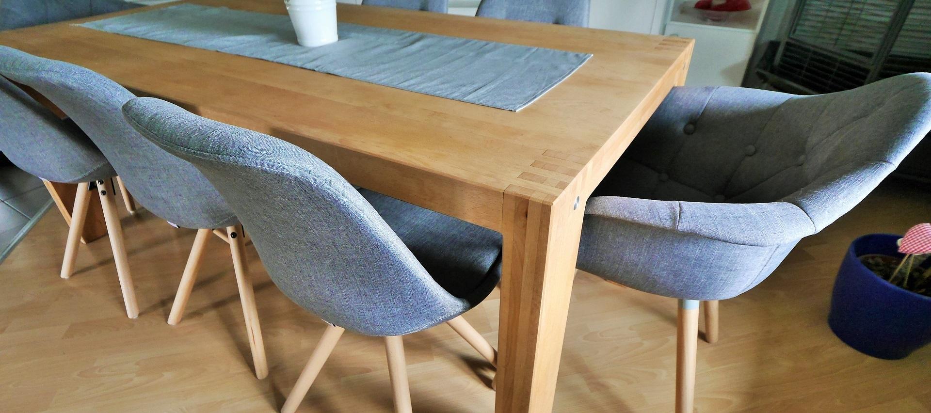 Esstisch aus Buche Massivholz bei Holz-Hauff GmbH in Leingarten