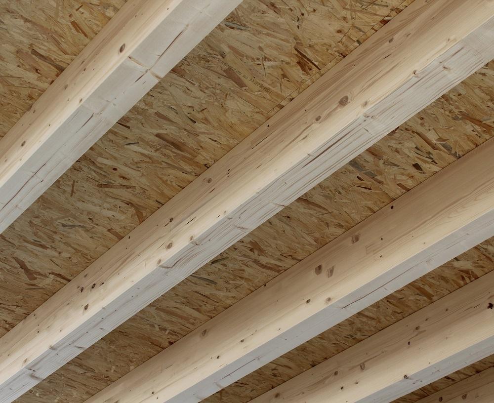 Konstruktion aus Brettschichtsholz und OSB Platten von Holz-Hauff GmbH in Leingarten