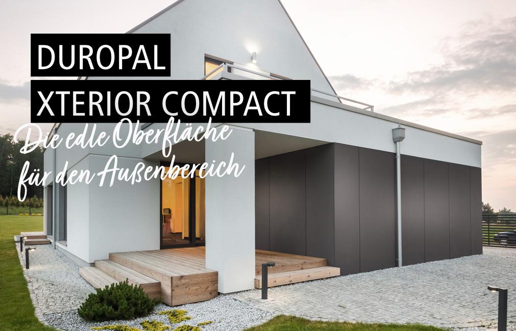 XTerior compact | Die edle Oberfläche für den Außenbereich | Holz-Hauff in Leingarten