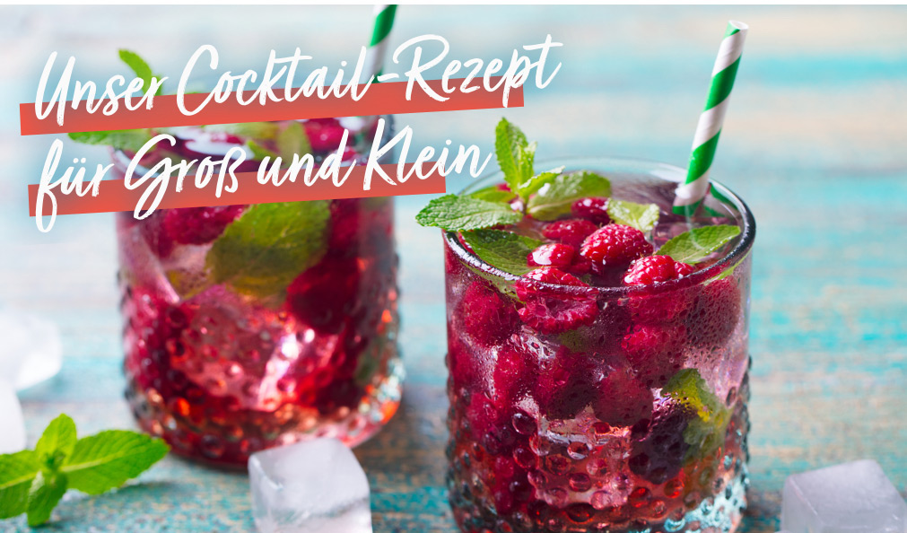 Cocktail-Rezept Himbeer-Mojito | Holz-Hauff in Leingarten