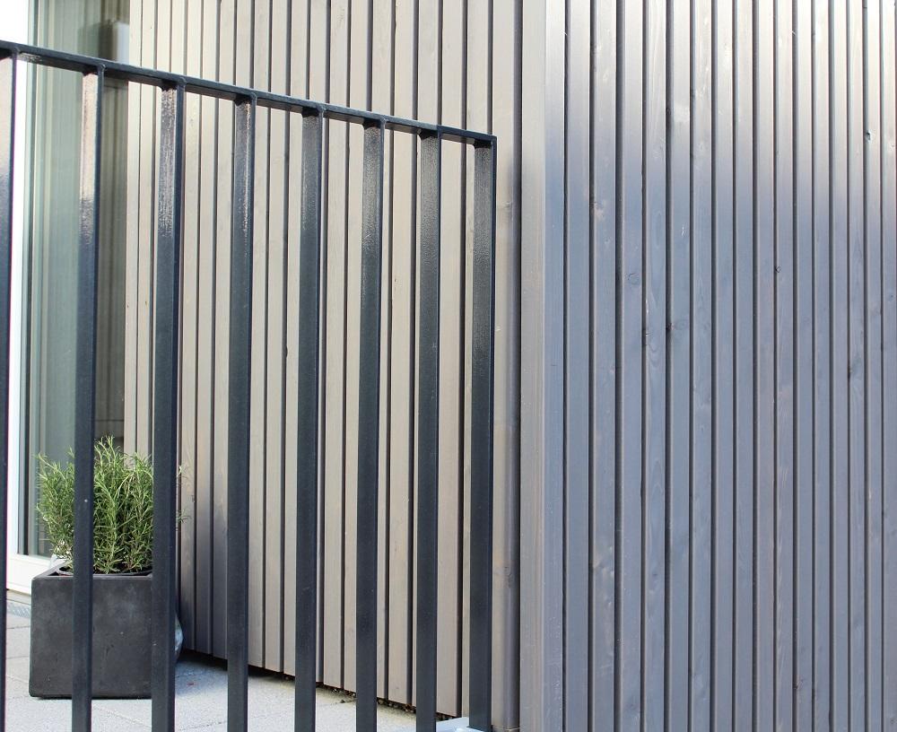 MocoPinus Fassade Sibirische Lärche ALPINLINE bei Holz-Hauff GmbH in Leingarten