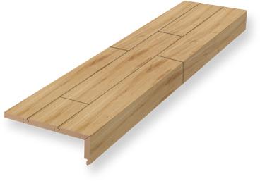 Stufenkantenprofil, einmal eingeschlagen | Renovierung | Holz-Hauff in Leingarten