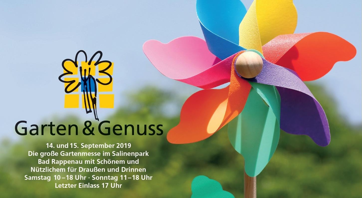 Gartenmesse Garten & Genuss mit Holt-Hauff GmbH