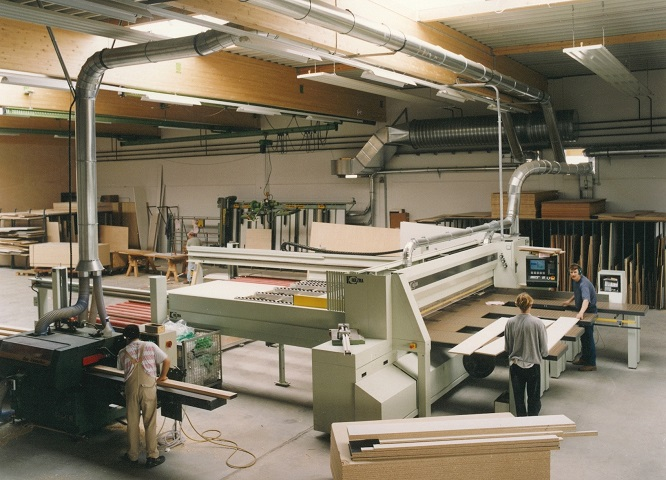 Modernisierung unserer Holzbearbeitung