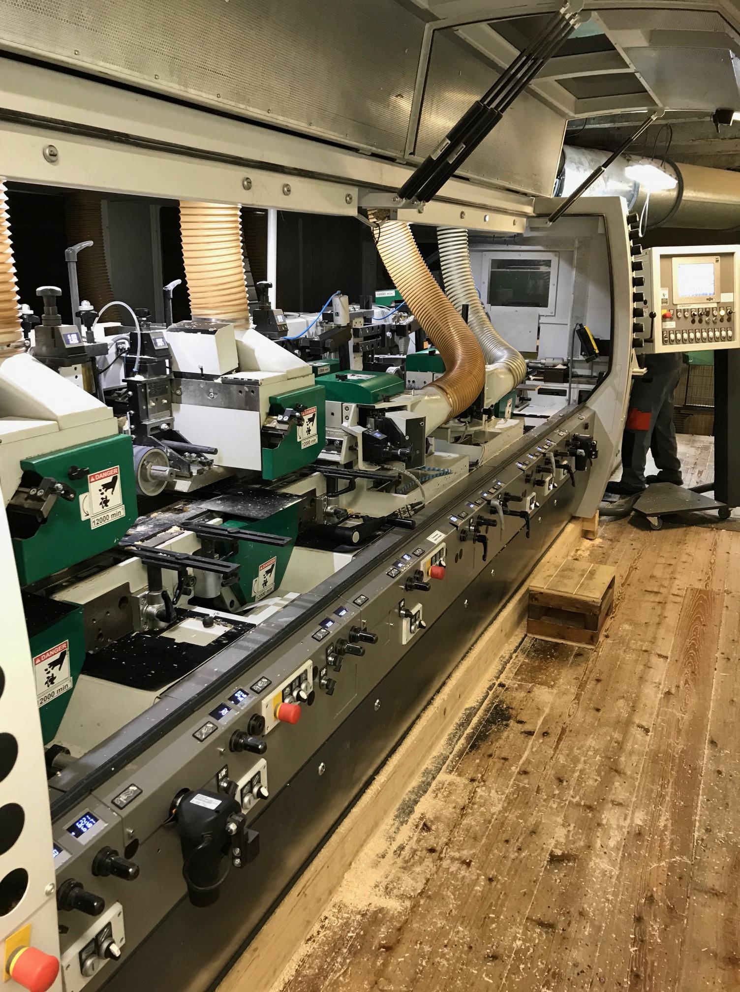 Betriebsführung bei Häussermann Holzbauteam von Holz-Hauff GmbH in Leingarten
