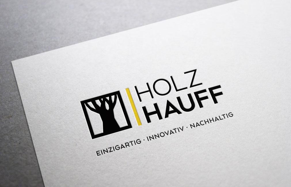 Redesign von Logo und Marke | Holz-Hauff in Leingarten