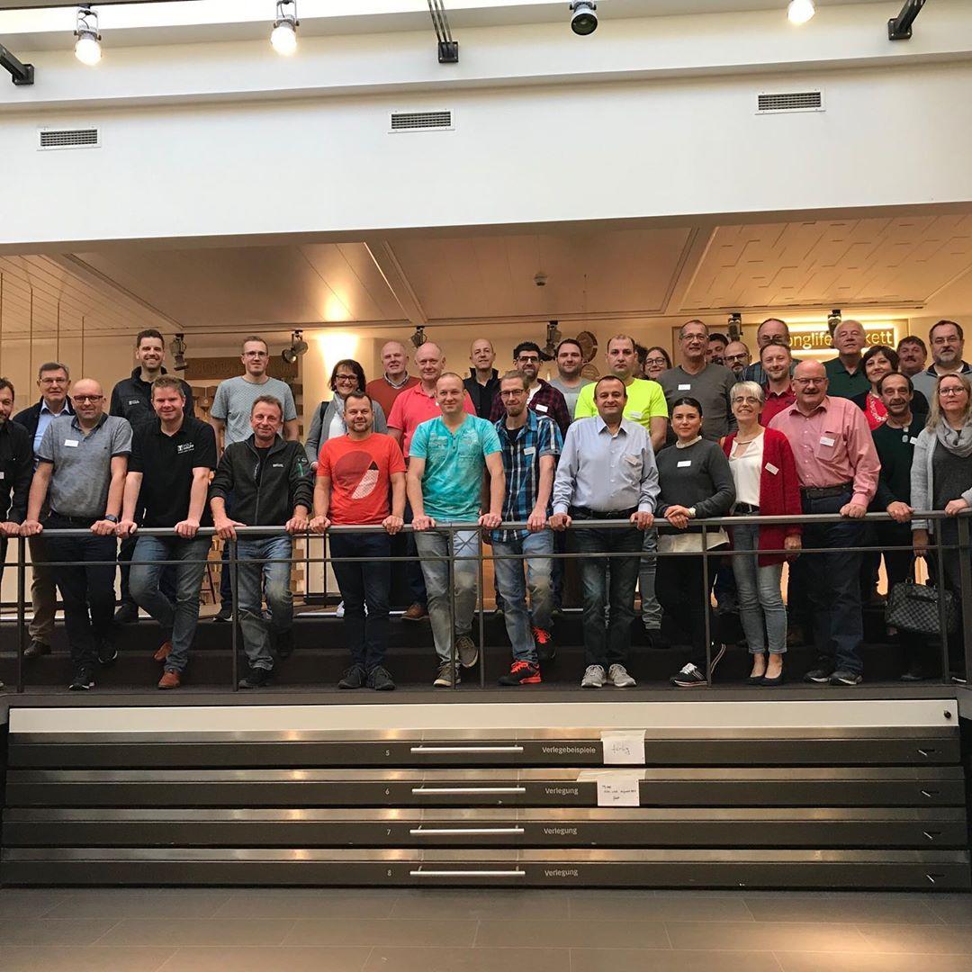 Gruppenbild Meister Werke | Holz-Hauff GmbH in Leingarten
