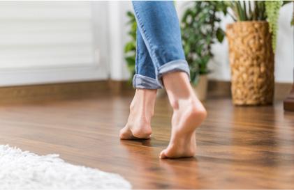 Fußwarme PRO Comfort-Böden | Holz-Hauff in Leingarten