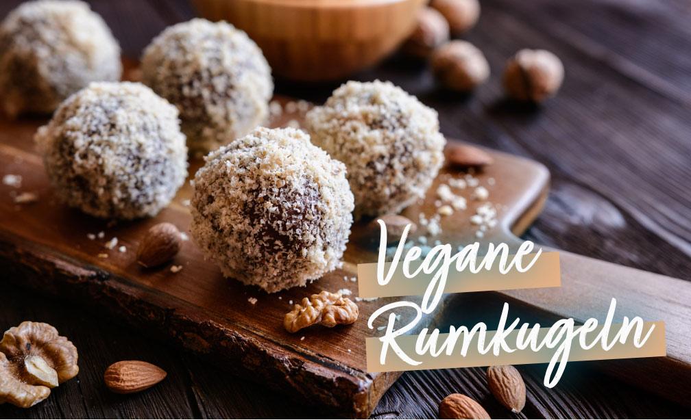 Rezept: Vegane Rumkugeln | Holz-Hauff in Leingarten