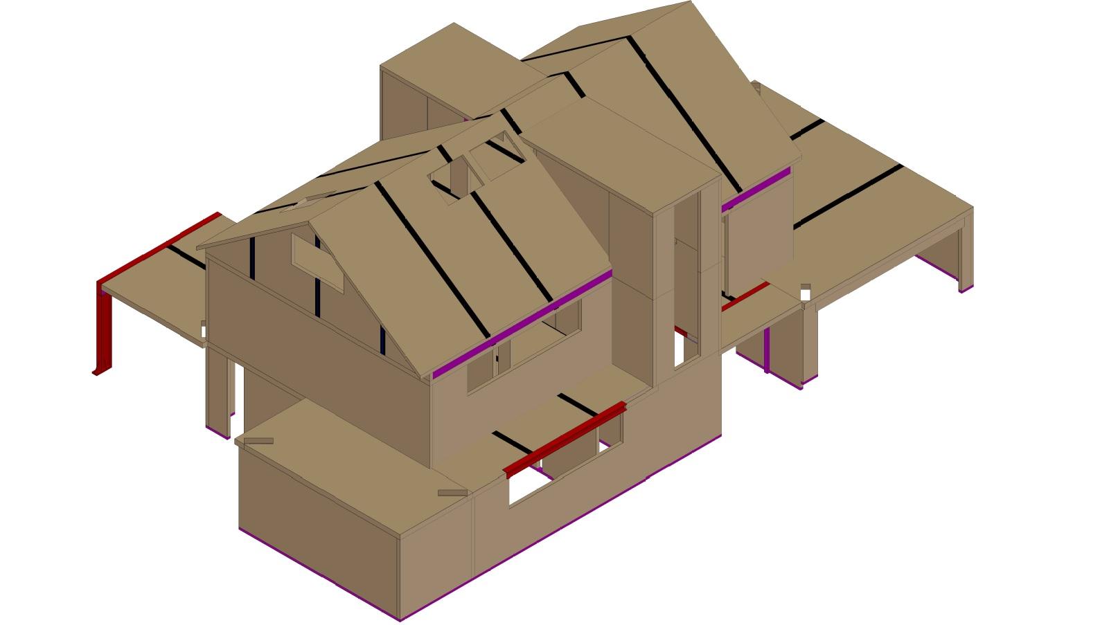 Holzhausbau mit Brettsperrholz | bei Holz-Hauff GmbH in Leingarten