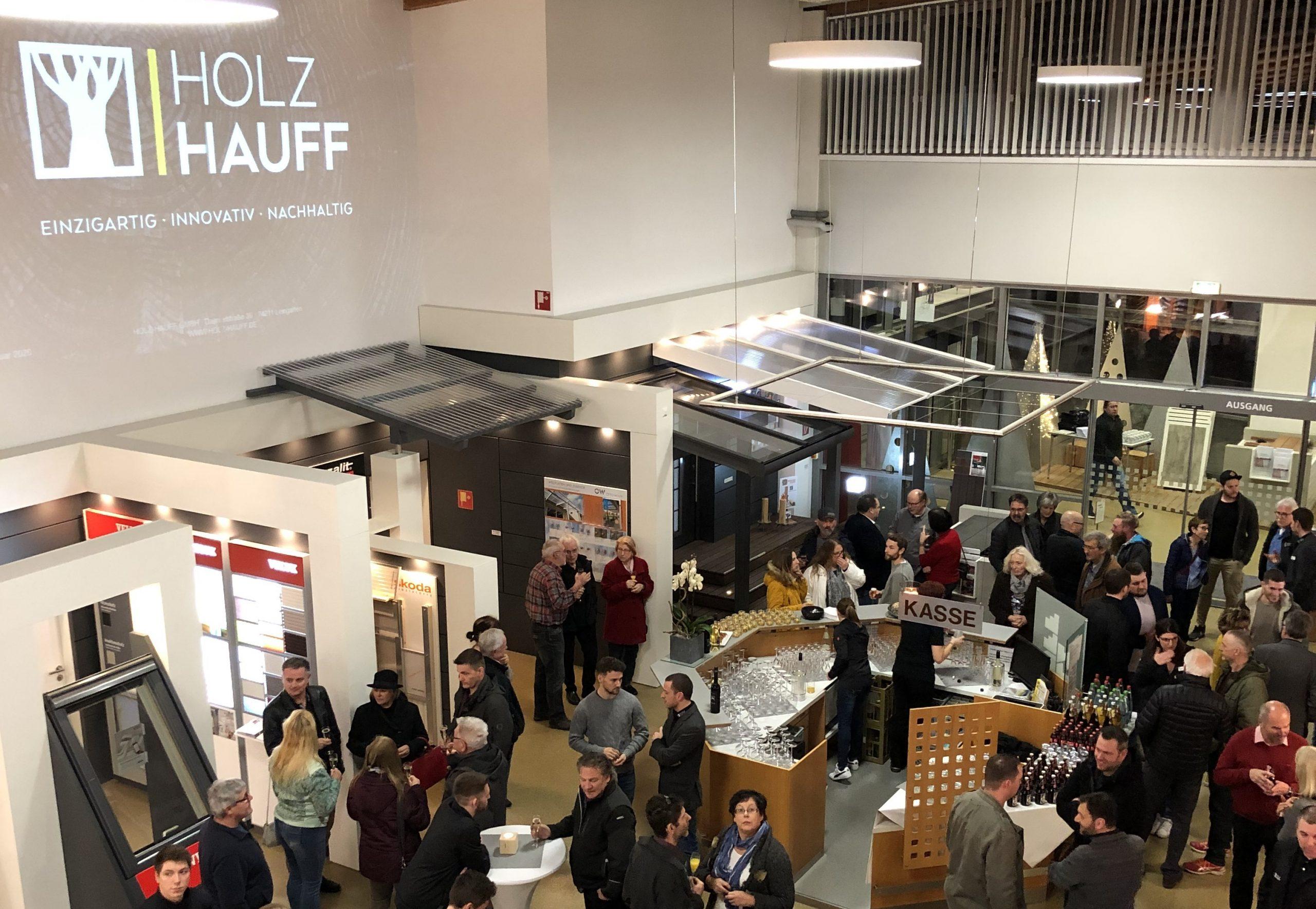 Neujahrsempfang 2020 | bei Holz-Hauff GmbH in Leingarten