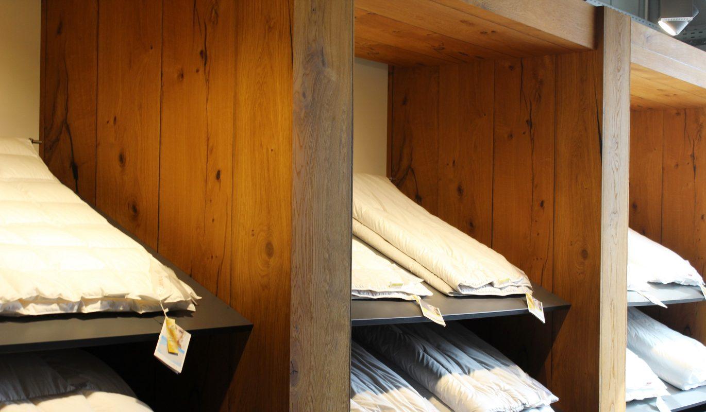 Verkaufsregal aus Altholz Leeuwenburgh bei Holz-Hauff GmbH in Leingarten