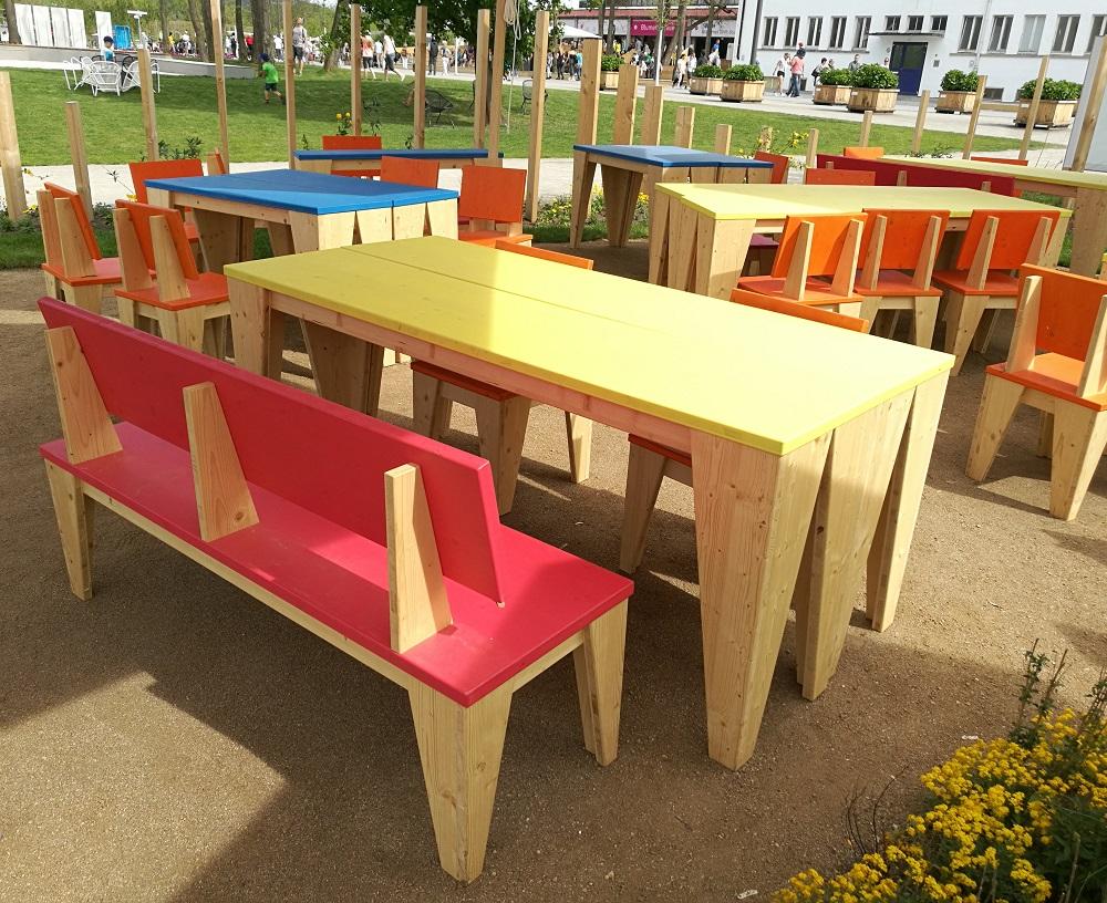 Gartenmöbel aus 3-Schichtplatten | bei Holz-Hauff GmbH in Leingarten