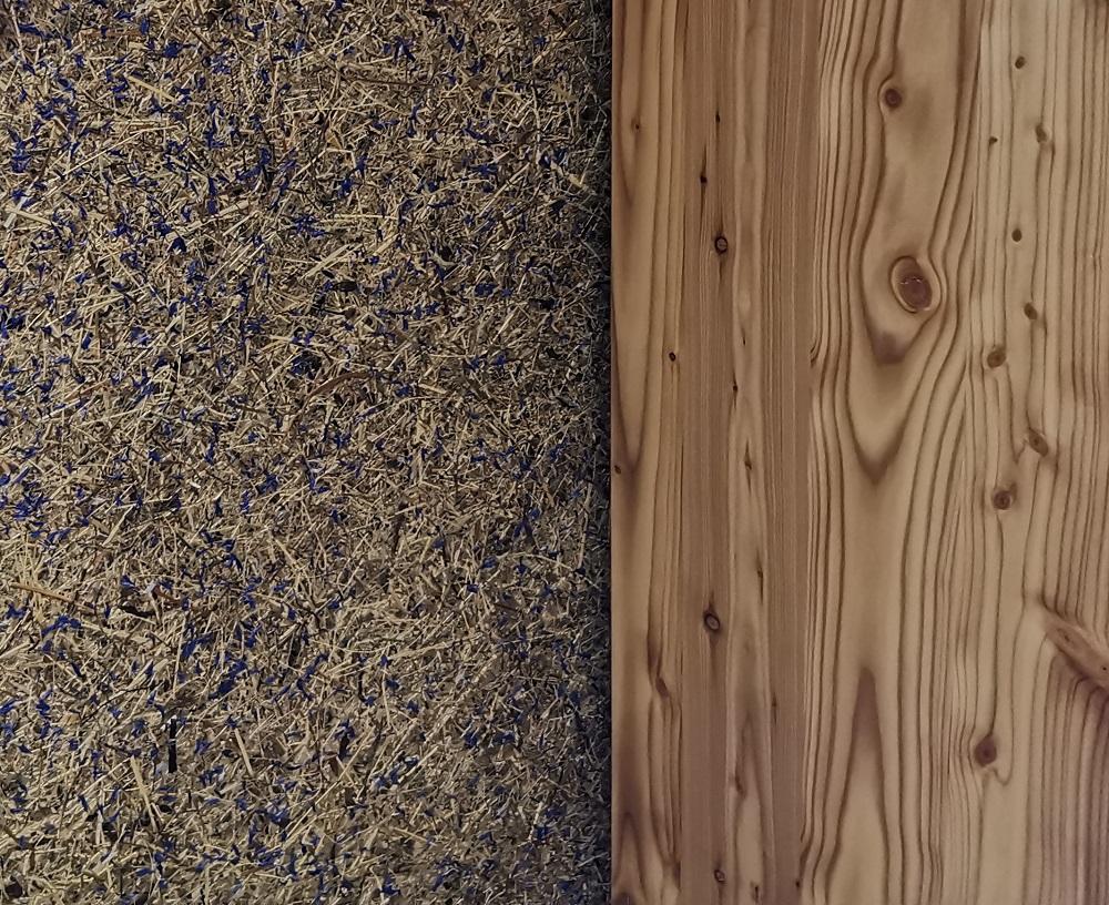 Sattelkammer mit Organoid® Tapete | bei Holz-Hauff GmbH in Leingarten