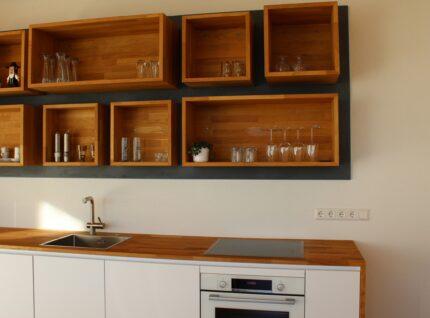 Küchenarbeitsplatte aus Euro. Eiche | bei Holz-Hauff GmbH in Leingarten