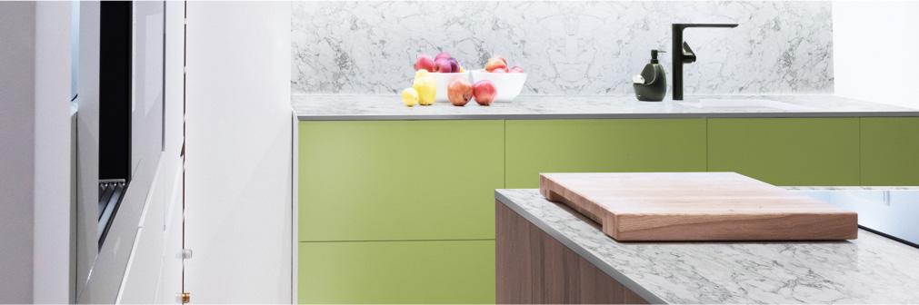 Duropal HPL Compact Upstand, Marmor Carrara | Holz-Hauff in Leingarten