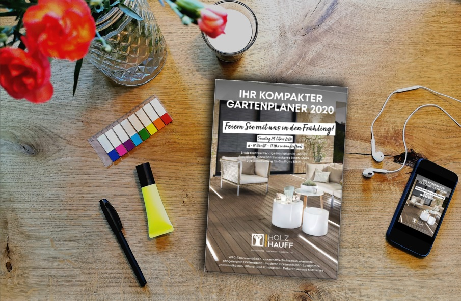 Brügmann Gartenplaner 2020 | Holz-Hauff Leingarten
