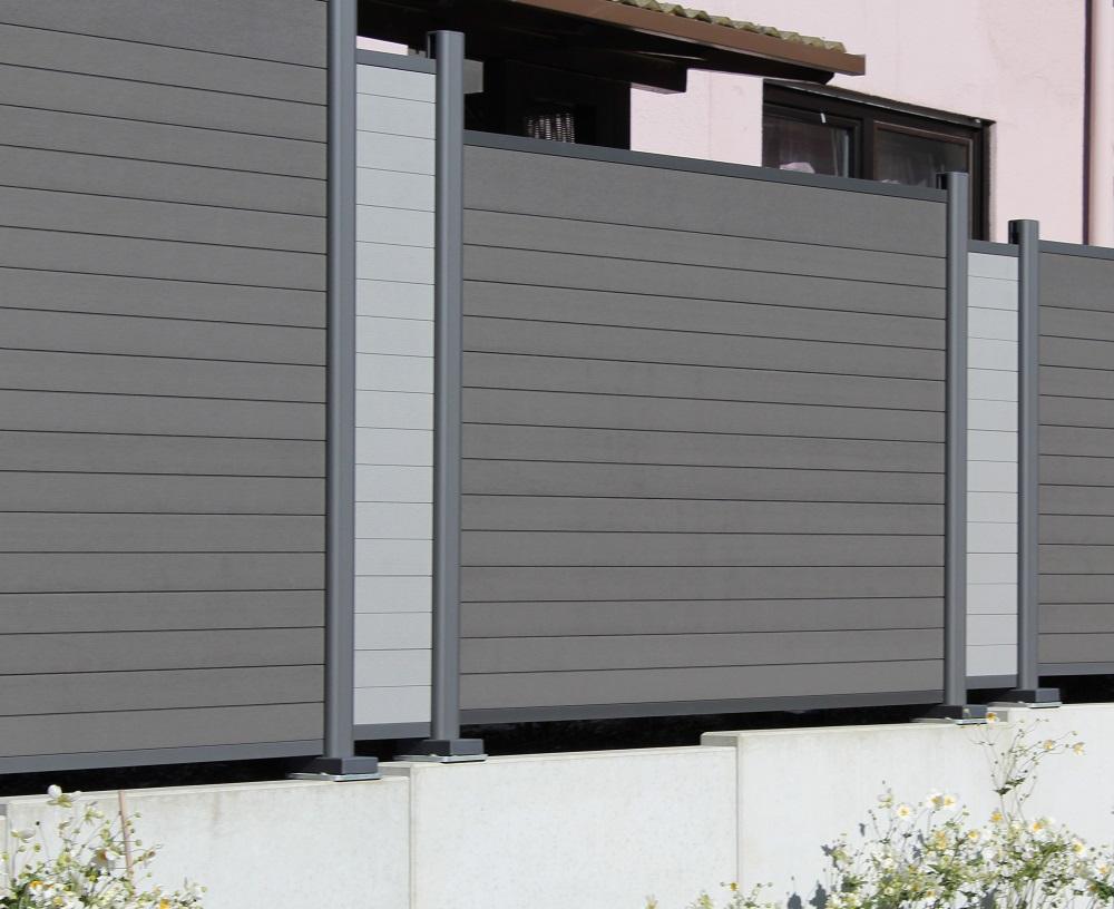 Brügmann System WPC Sichtschutzzaun | bei Holz-Hauff GmbH in Leingarten