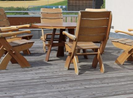 Terrassenbelag aus Europäischer Lärche | bei Holz-Hauff GmbH in Leingarten