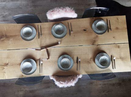 Massivholztisch aus Asteiche Blockware | bei Holz-Hauff GmbH in Leingarten