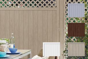 Streichfreier Sichtschutz, Fenster-Kunststoff | Holz-Hauff in Leingarten