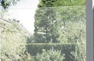 Streichfreier Sichtschutz, Glas | Holz-Hauff in Leingarten