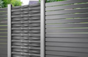 Streichfreier Sichtschutz, Metall | Holz-Hauff in Leingarten