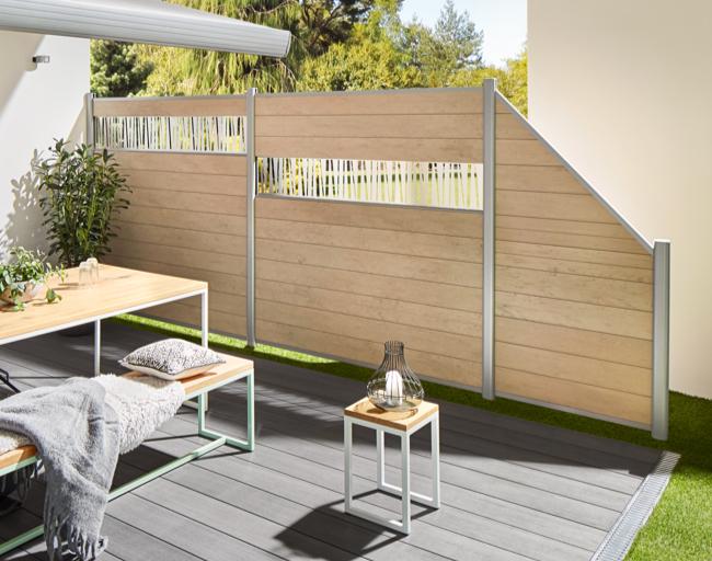 Streichfreier Sichtschutz, Materialien und Pflegetipps | Holz-Hauff in Leingarten
