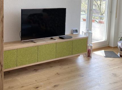 Sideboard mit Front aus Organoid MOUS HELLGRIAN bei Holz-Hauff GmbH in Leingarten