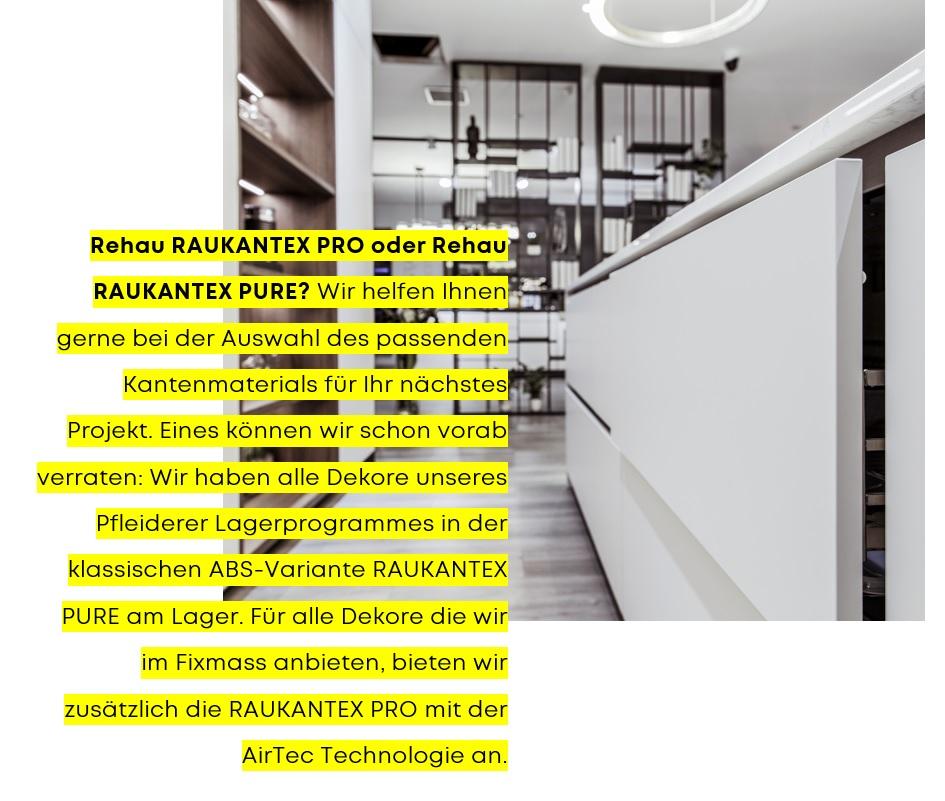 Rehau Lagerprogramm RAUKANTEX | bei Holz-Hauff in Leingarten