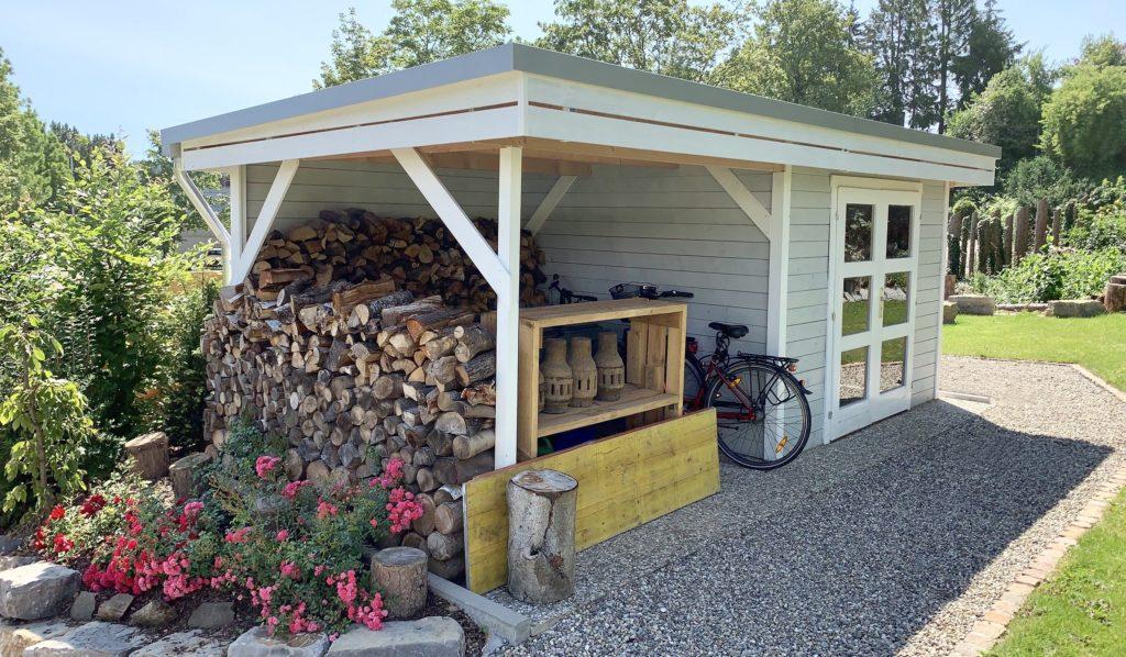 Wolff Finnhaus Gartenhaus Calais | bei Holz-Hauff GmbH in Leingarten