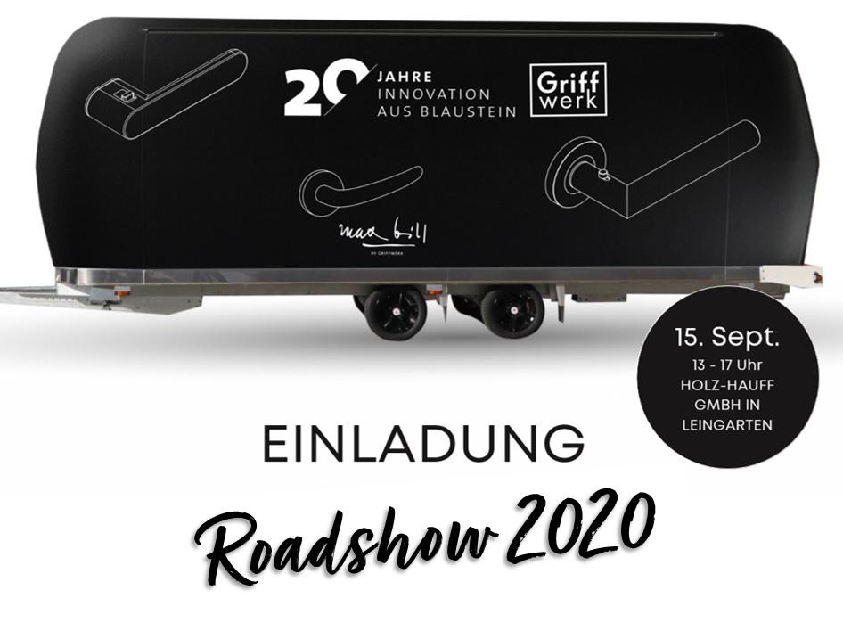 Einladung Roadshow GriffWerk | bei Holz-Hauff GmbH in Leingarten