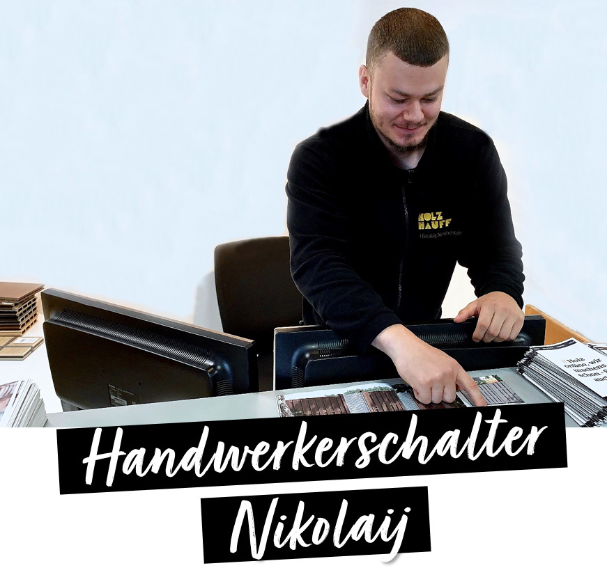 Azubigeschichten Handwerkerschalter | bei Holz-Hauff GmbH in Leingarten